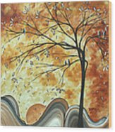 The Resting Place By Madart Wood Print