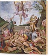 The Resurrection Of Christ, Florentine School, 1560 Wood Print