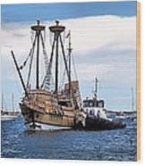 The Return Of Mayflower II Wood Print
