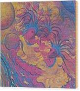 The Rhythm Of Carnival Wood Print
