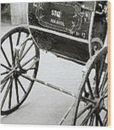 The Rickshaw Wood Print