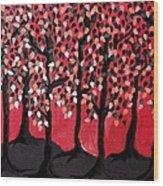 The Ridge Wood Print