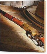 The Rifle Wood Print