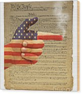 The Right To Bear Arms-4 Wood Print