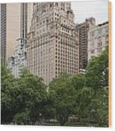 The Ritz Carlton Central Park Wood Print