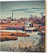 The River Basin Wood Print
