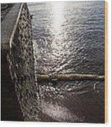 The River's Edge Wood Print