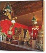The Rivers Saloon Wood Print