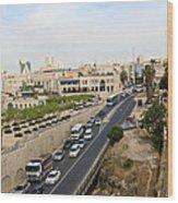 The Road To Bethlehem Wood Print