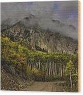 The Road To Glory Wood Print