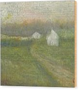 The Road To Jesse James Farm Wood Print