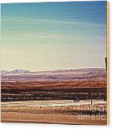 The Road To Vegas  Wood Print