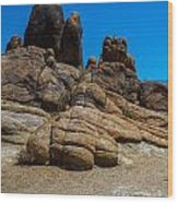 The Rock Formation Wood Print