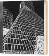 The Rock Hall Cleveland Wood Print