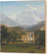 The Rocky Mountains Landers Peak Wood Print