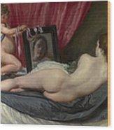 The Rokeby Venus Wood Print