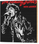 The Rolling Stones No01 Wood Print