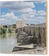 The Roman Bridge Of Cordoba  Wood Print