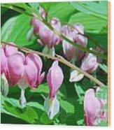 The Romance Flower Wood Print