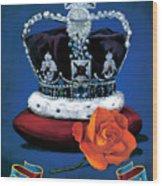 The Rose & Crown Wood Print