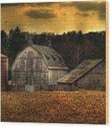 The Rose Farm Wood Print