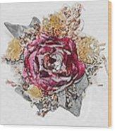 The Rose Wood Print by Susan Leggett