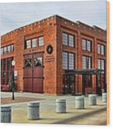 The Roundhouse Evanston Wyoming - 1 Wood Print