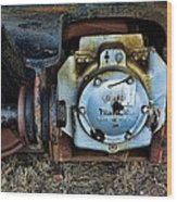 The Roundhouse Evanston Wyoming Dining Car - 3 Wood Print
