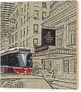 The Royal Alex On King Street Wood Print