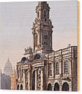 The Royal Exchange, 1816 Wood Print