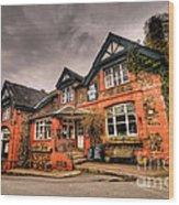The Royal Oak At Dunsford Wood Print