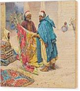The Rug Merchant Wood Print
