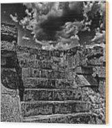 The Ruins Of Chichen Itza V2 Wood Print