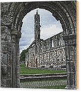 The Ruins Of St Andrews Cathedral Wood Print