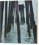 The Ruins Of The 59th Street Pier  Wood Print