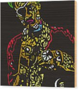 The Ruler Wood Print