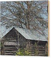 The Rural Life II Wood Print