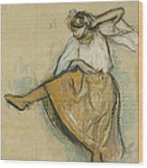 The Russian Dancer Wood Print