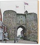 The Rye Landgate  Wood Print