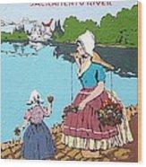 The Sacramento River Wood Print