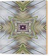 The Sacred Pine Mandala Yantra Wood Print