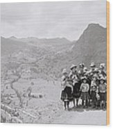 The Sacred Valley Wood Print
