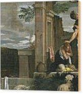 The Sacrifice Of Isaac Wood Print