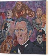 The Saga Of Frankenstein Wood Print