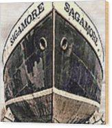 The Sagamore Dry Dock Wood Print