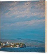 The Sagamore Hotel On Beautiful Lake George Wood Print