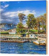 The Sagamore Hotel On Lake George Wood Print