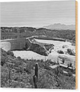 The Salt River In Arizona Wood Print