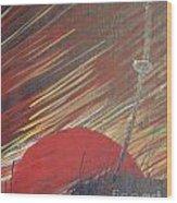 The Samurai's Last Stand Wood Print