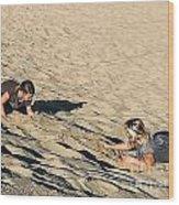The Sand Land Wood Print